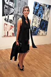 PRINCESS ROSARIO SAXE-COBURG at a private view of work by artist Elizabeth Peyton 'Live Forever' held at the Whitechapel Gallery, 77-82 Whitechapel High Street, London E1 on 7th July 2009.