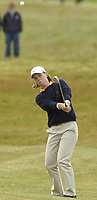 Golf, 11. juni 2005, Holland's Christel Boeljon chips to the 14th green during her 5 & 4 defeat to Ireland's Claire Coughlan