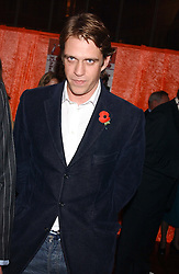 BEN ELLIOT at a party to celebrate the publication of 'E is for Eating' by Tom Parker Bowles held at Kensington Place, 201 Kensington Church Street, London W8 on 3rd November 2004.<br /><br />NON EXCLUSIVE - WORLD RIGHTS