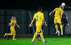Predrag Sikimic of NK Domzale during football match between NK Domzale and NK Maribor in 2nd Round of Prva liga Telekom Slovenije 2020/21, on August 30, 2020 in Športni park Domzale, Slovenia. Photo by Vid Ponikvar / Sportida