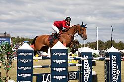 Fredricson Peder (SWE) - H&M Cash In<br /> Grand Prix of the CSIO Falsterbo 2012<br /> © Hippo Foto - Beatrice Scudo