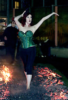 Fire Walk With Me 2020 Cabaret vs Cancer, supporting families affected by cancer,Randal Cremer Primary School<br /> Ormbsby St, London,photo by roger alarcon
