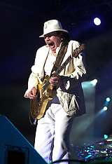 Carlos Santana performs in Cape Town - 11 April 2018