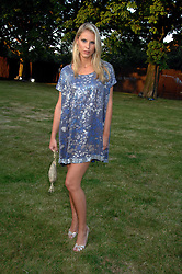 PETRINA KHASHOGGI  at the annual Serpentine Gallery Summer Party in association with Swarovski held at the gallery, Kensington Gardens, London on 11th July 2007.<br /><br />NON EXCLUSIVE - WORLD RIGHTS