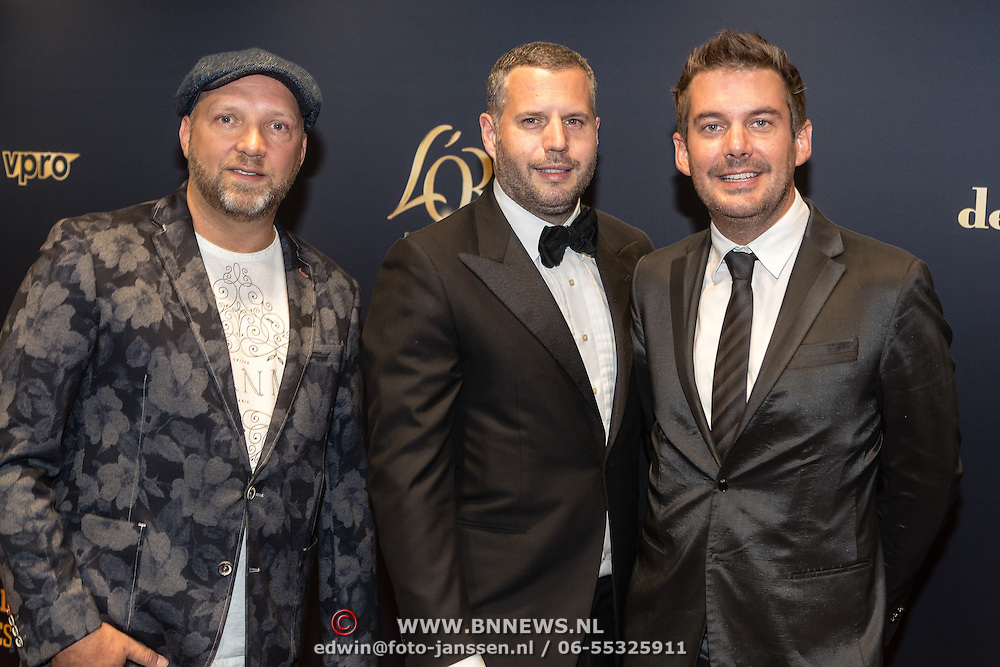 NLD/Utrecht/20160922 - inloop NFF 2016 - première Riphagen, Ruben van der Meer, Ruben Nicolai, Tijl Bekhand