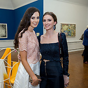 """18.05.2018.          <br /> More than 500 people attended the flagship event of the inaugural Unwrap LSAD Fashion Festival in Limerick.<br /> <br /> Pictured at the event were, Michelle Crean and Gemma McLean.<br /> <br /> The Limerick School of Art & Design, LIT, Fashion Design Graduate Exhibition and launch of the """"The Fashion Film"""" at Limerick City Gallery of Art, in partnership with EVA International, attracted hundreds of people from the world of fashion. <br /> <br /> A total of 27 fashion graduates presented their designs alongside the specially commissioned film by fashion stylist and creative director Kieran Kilgallon and videographer Albert Hooi. Picture: Alan Place"""