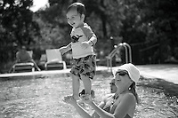 Family reunion at the Umstead Hotel. I documented the extended family, grandparents through grandchildren, aunts and uncles, as they played together. I also did portraits of the whole group as well as individual families.