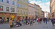 Ulica Grodzka w Krakowie, Polska<br /> Grodzka Street in Cracow, Poland