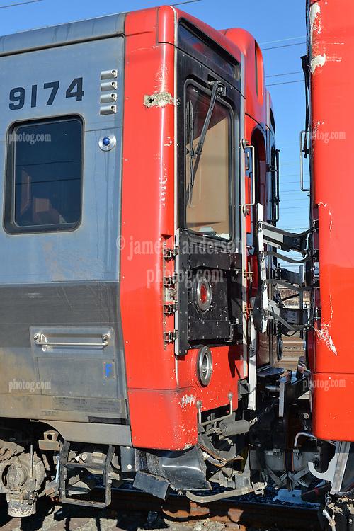 Derailment - Bridgeport CT - May 17, 2013<br /> Photograph ID: Car 9174 - Image 03
