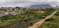 South Africa - Cape Town - 16 September 2020 - South Africa is experiencing a rapid increase in the criminal act of cable theft. This trend of stealing cables affects every citizen in the country. Cable theft has a big impact on crucial services like public transport, electricity, telephone and internet. When cables are stolen from the rail system, trains are delayed and cancelled because the infrastructure is badly damaged..Picture Leon Lestrade/African News Agency(ANA).