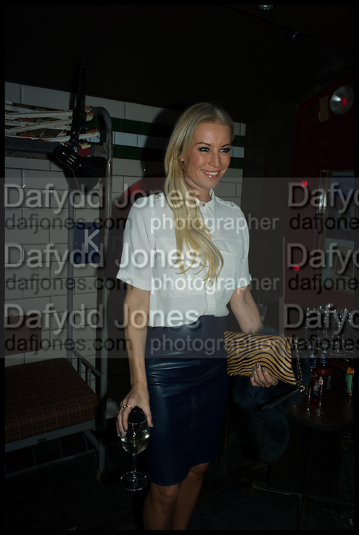 DENISE VAN OUTEN, Cahoots club launch party, 13 Kingly Court, London, W1B 5PW  26 February 2015