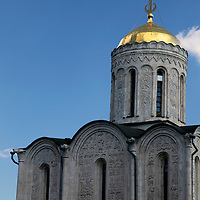 Europe, Russia. Vladimir. Cathedral of St. Dimitry.