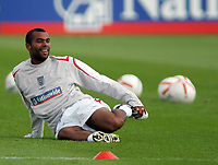 Photo: Paul Thomas.<br /> England Training Session. 01/09/2006.<br /> <br /> Ashley Cole.