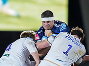Sale Sharks flanker Jono Ross during a Gallagher Premiership Round 9 Rugby Union match, Friday, Feb 12, 2021, in Leicester, United Kingdom. (Steve Flynn/Image of Sport)