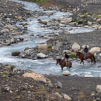 The trekking routes of the national park can also be done by horse.