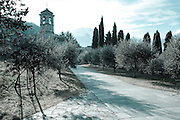 Piona Abbey, Lake Como, Lombardy, Italy