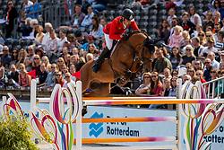 Matos Almeida Antonio, POR, Volver de la Vigne<br /> European Championship Jumping<br /> Rotterdam 2019<br /> © Hippo Foto - Dirk Caremans<br /> Matos Almeida Antonio, POR, Volver de la Vigne