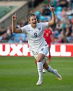 England Women v China Women 090415