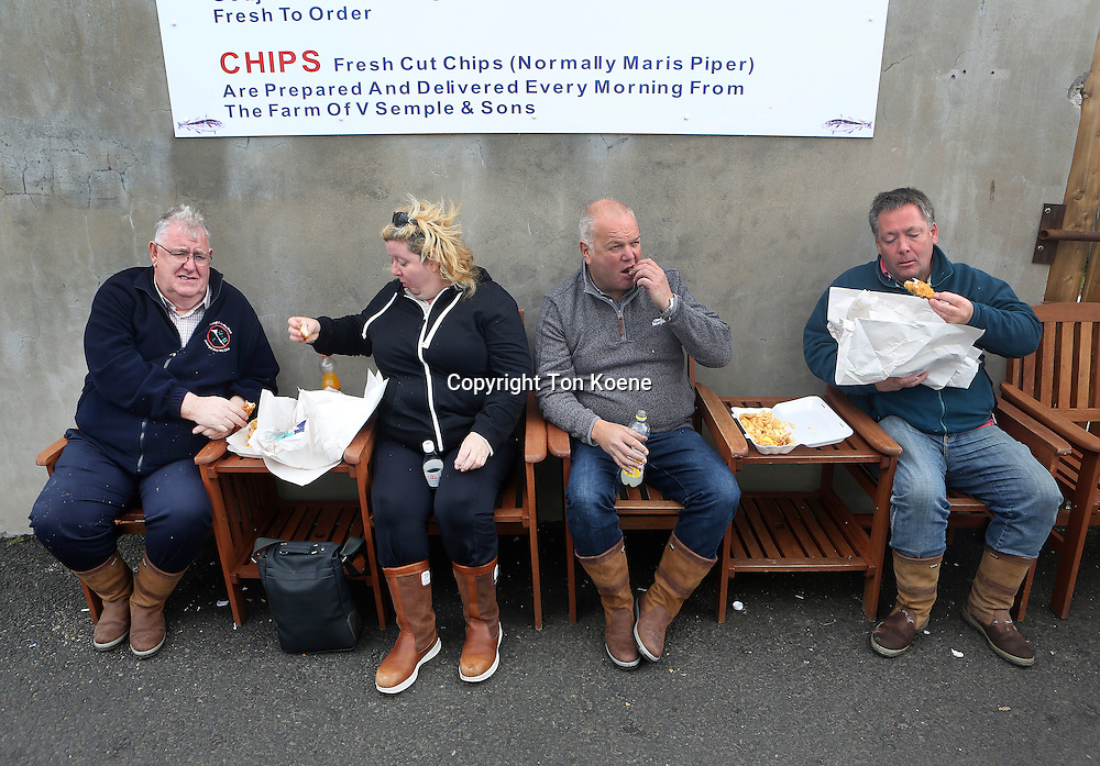 fish and chips restaurant in Northern Ireland