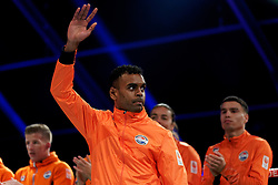 17-11-2019 NED: World Port Boxing Netherlands - Kazakhstan, Rotterdam<br /> 3rd World Port Boxing in Excelsior Stadion Rotterdam / Delano James (NED)