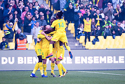 February 24, 2019 - Nantes, France - JOIE - EQUIPE DE FOOTBALL DE NANTES (Credit Image: © Panoramic via ZUMA Press)