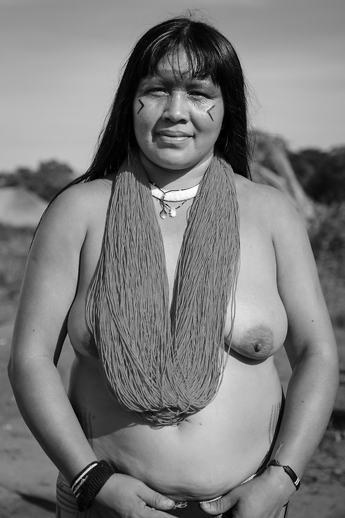 Babalú. Aldeia Ipatse, etnia Kuikuro, Alto Xingu.
