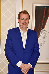 Tom Parker Bowles at the launch of the Fortnum & Mason Christmas & Other Winter Feasts Cook Book by Tom Parker Bowles held at Fortnum & Mason, 181 Piccadilly, London, England. 17 October 2018.
