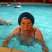 Sportschool Rebel mevr Honing oudste lid Aquajogging