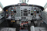 Beech King Air cockpit