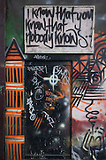 Bayesian philosphical graffiti on a south London wall.