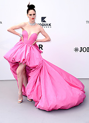 Coco Rocha attending the 26th amfAR Gala held at Hotel du Cap-Eden-Roc during the 72nd Cannes Film Festival. Picture credit should read: Doug Peters/EMPICS
