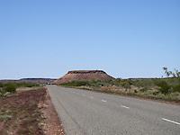 Plateau mountain in the desert in Western Australia