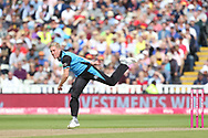 Worcestershire Rapids Luke Wood during the Vitality T20 Finals Day semi final 2018 match between Worcestershire Rapids and Lancashire Lightning at Edgbaston, Birmingham, United Kingdom on 15 September 2018.