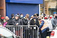 Football - 2020 / 2021 Emirates FA Cup - Round Three - Marine v Tottenham Hotspur - Rossett Park<br /> <br /> General scenes outside the Marine Travel Arena as the crowds await the teams to arrive<br /> <br /> COLORSPORT/TERRY DONNELLY