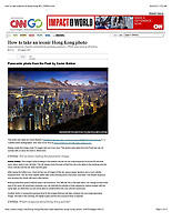Iconic Photo of Hong Kong