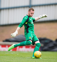 Livingston keeper Darren Jamieson. <br /> Raith Rovers 3 v 0 Livingston, SPFL Ladbrokes Premiership game played 8/8/2015 at Stark's Park.