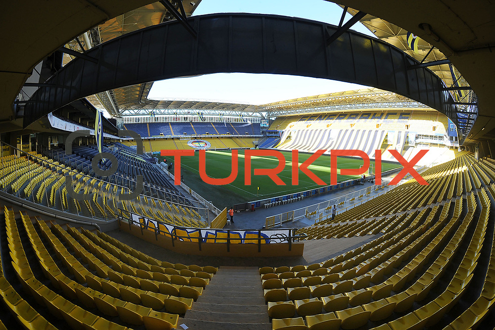 Fenerbahce's and Orduspor's during their Turkish superleague soccer match Fenerbahce between Orduspor at the Sukru Saracaoglu stadium in Istanbul Turkey on Monday 12 September 2011. Fenerbahce played spectators match through suspension. Photo by TURKPIX