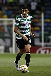September 20, 2018 - Lisbon, Portugal - Rodrigo Battaglia of Sporting  in action  during Europa League 2018/19 match between Sporting CP vs Qarabagh FK, in Lisbon, on September 20, 2018. (Credit Image: © Carlos Palma/NurPhoto/ZUMA Press)