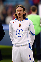 Fotball, 28. april 2004, Privatlandskamp, Norge-Russland 3-2, Alexei Smertin, Russland, portrett
