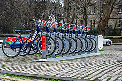 The rent-a-bike rack is awaiting customers who have made a resolution to lose those pounds gained over the festive period.<br /> <br /> Ger Harley: EEm