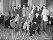 1952 Irish Creamery Managers leave for Denmark