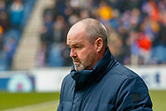 Kilmarnock FC Manager Steve Clarke during the Ladbrokes Scottish Premiership match between Rangers and Kilmarnock at Ibrox, Glasgow, Scotland on 16 March 2019.