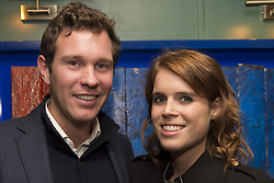 Embargoed to 0001 Wednesday December 28<br /> File photo dated 4/10/2016 of Princess Eugenie and boyfriend Jack Brooksbank.