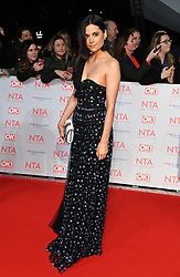 Lilah Parsons attending the National Television Awards 2018 held at the O2, London. Photo credit should read: Doug Peters/EMPICS Entertainment