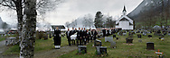 the funeral of Jostein Helgheim, Church of Helgheim.25 april 2008