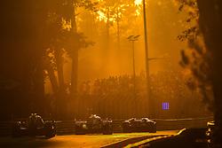 June 17, 2017 - Le Mans, France - 22 G-DRIVE RACING (RUS) ORECA 07 GIBSON LMP2 JOSE GUTIERREZ (MEX) RYO HIRAKAWA (JPN) MEMO ROJAS  (Credit Image: © Panoramic via ZUMA Press)