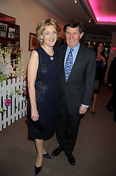 Lawyer FIONA SHACKLETON and her husband IAN SHACKLETON at the annual Sotheby's Summer Party held at their auction rooms 34-35 New Bond Street, London W1 on 19th June 2008.<br />