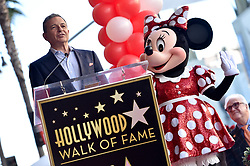 Bob Iger attends the ceremony honoring Minnie Mouse with a Star on The Hollywood Walk of Fame in Celebration of her 90th Anniversary at El Capitan Theatre on January 22, 2018 in Los Angeles, California. Photo by Lionel Hahn/ABACAPRESS.COM