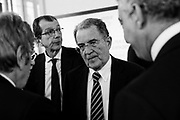 Romano Prodi during the presentation of a project for the  economic development of Southern Italy. Rome 16 March 2017. Christian Mantuano / OneShot