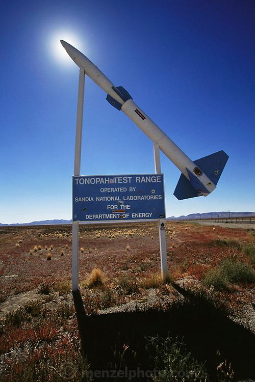 Tonopah test range near Area 51, Nevada. (1999)